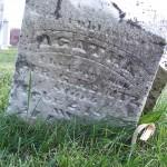 Agatha Heintz (1842-1868), Zion Lutheran Cemetery, Chattanooga