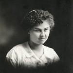Hilda Magdelina Scaer (1895-1997) d/o John & Lizzie (Schinnerer) Scaer, w/o Cornelius Schumm