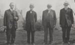 HG Schumm, Rev Geo Schumm, Louis M Schumm, JF Schumm (1915)