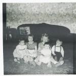 Cousins Susie, Sharon, Karen, Diane, Ron