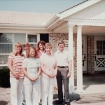 Dr. Larry Heitkamp & staff (1982—Joan, Gail, Susan, Neva, Karen, Dr. Heitkamp)
