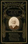 Frederick Schinnerer Death Card (1824-1905)