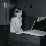 Organist, 1969 Parkway Graduation