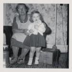 Grandma Miller & Karen, c1954