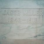 Jacob Miller (1843-1918), Zion Lutheran Mausoleum