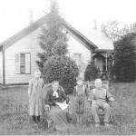Frieda, Sarah (Breuninger), Cornelius, Louis J Schumm (1905)