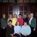 IU RDH Class of 1973 (2007—Becky, Patty, Cheryl, Julie, Joyce, Jan, Karen, Karen, Nancy, Diane)