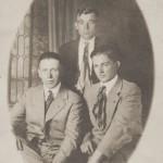 Roesner Brothers: Christian (1887-1955), Edward (1893-1957), Friedrick (1889-1971) s/o Diedrick & Christine