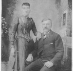 "Henry Schumm, aka ""River Henry"" (1844-1922, s/o Ludwig & Barbara (Pflueger) Schumm) & Magdelena ""Lena"" Geisler (1868-1946, d/o George & Rosina Hofmann Geisler)"