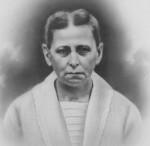 Sarah (Breuninger) Schumm, w/o Louis J Schumm, d/o Louis Breuninger (1861-1921)