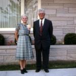 Hilda (Scaer) & Cornelius Schumm 40th Anniversary (1967)