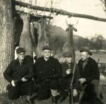 Cornelius L Schumm (far left)