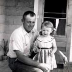 Dad & Karen c1954