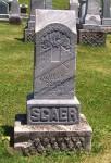 Wilhelm A. Scaer 23 Jul 1897-26 nov 1906) Schumm Cemetery, Van Wert County, Ohio