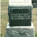 Jacob Miller Jr (1886-1913), Zion Lutheran Cemetery, Chattanooga, Ohio