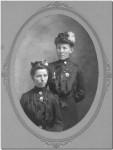 Maggie (Rueck) Kallenberger (1875-1962) & Maria Regina Miller (1884-1905)