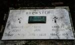 BREWSTER, Winfield Scott, Effie Jane, Charles Augustus, Kessler/Liberty Cemetery, Mercer County, Ohio