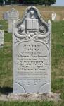 Rosina Buchner, Zion Lutheran Cemetery, Schumm, Van Wert County, Ohio