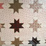 Quilt made by Chrintina Rueck & Rosina (Schinnerer) Schumm c1881.