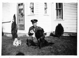 Dale Caffee, Army, WWII