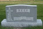 Wavil J & Clara C Reef, Zion Lutheran Cemetery, Chattanooga, Ohio