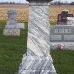 Catharina Heinz, Zion Lutheran Cemetery, Chattanooga, Ohio