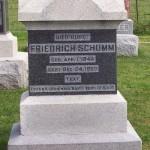 Friedrich Schumm Jr, Zion Lutheran Cemetery, Schumm, Ohio