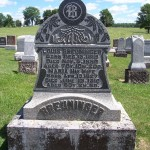 Louis & Maria Breuninger, Zion Lutheran Cemetery, Schumm, Ohio