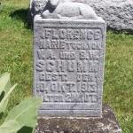 Florence Marie Schumm, Zion Lutheran Cemetery, Van Wert County, Ohio.