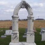 Sixtus & Magealene Gugel, Zion Lutheran Cemetery, Chattanooga, Ohio.