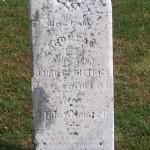 Andreas Dietrich, Zion Lutheran Cemetery, Schumm, Ohio