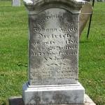 Johann Jacob Dietrich, Zion Lutheran Cemetery, Schumm, Van Wert County, Ohio.