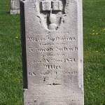 Maria Katharina Dietrich, Zion Lutheran Cemetery, Schumm, Van Wert County, Ohio.