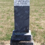 Friedricka Beberstein, Kessler Cemetery, Liberty Township, Mercer County, Ohio.