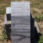 Abraham Beberstein, Kessler Cemetery, Mercer County, Ohio.