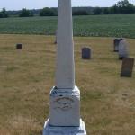 John & Anna C. Brandt, Duck Creek Cemetery, Blackcreek Township, Mercer County, Ohio.