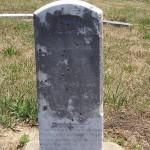 Abraham Biberstein [son], Kessler Cemetery, Mercer County, Ohio.