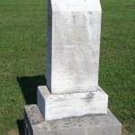 Caroline Biberstein, Kessler Cemetery, Mercer County, Ohio.