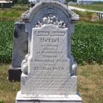 Anna Rosina Betzel, Kessler Cemetery, Liberty Township, Mercer County, Ohio.
