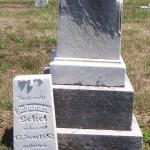 Johannes Betzel, Kessler [aka Liberty] Cemetery, Liberty Township, Mercer County, Ohio.