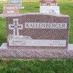Margra & John Kallenberger, Zion Lutheran Cemetery, Chattanooga, Mercer County, Ohio.