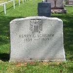Henry G. Schumm, Zion Lutheran Cemetery, Schumm, Van Wert County, Ohio.