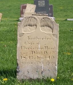 Katherine Hardzog, Zion Lutheran Cemetery, Schumm, Van Wert County, Ohio.