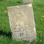Caroline Hardzog, Zion Lutheran Cemetery, Schumm, Van Wert County, Ohio.