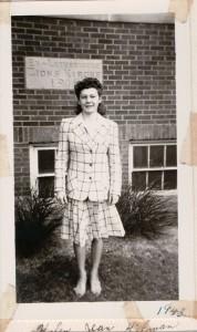 Helen Jean Hileman, 1943.