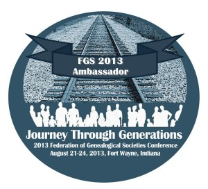 2013 FGS Conference Ambassador