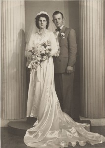 Florence & Herbert Miller, 3 December 1950.