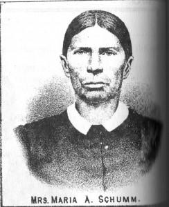 Maria Pflueger Schumm (1820-1903)