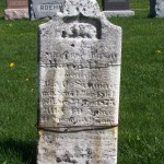 Maria Schinnerer, Zion Lutheran Cemetery, Schumm, Van Wert County, Ohio. (2012 photo by Karen)