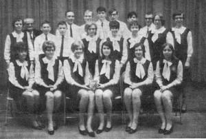 Mercer County Grange Drill Team, State Champions, 1969. [1]